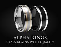 Alpha Rings