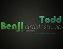 2014 Game Art Demo Reel