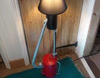 Flamethrower Lamp