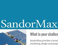 SandorMax Website Design