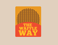 The Waffle Way Branding