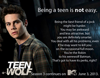 Teen Wolf Speculative Ad Campaign