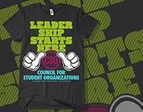CSO Leadership Starts Here shirt