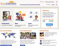 WEBSITE DEVELOPMENT - RareConnect