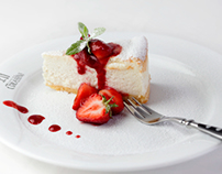 Food photography for Corassini restaurant