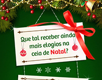 E-mail Marketing Receitas de Natal Puro Sabor