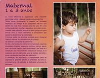 Folder Institucional Colégio Waldorf Micael 2014