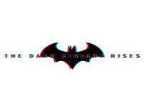 Batman (The Dark Knight Rises) in 3D Style