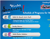 Schedule of Program