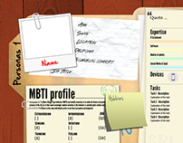 Template for UX Personas