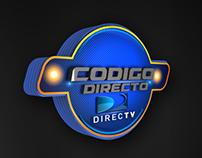 Key Visual Codigo Directo Directv