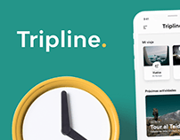 Tripline app - UI / UX Design
