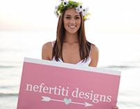 NEFERTITY DESIGNS BRAND IDENTITY PIECES