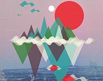 Mixed illustrations/prints
