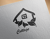 Logo Design Cottage Business Logo