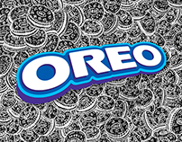 Oreo on canvas (stop motion video)