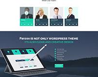 Panzoo Marketing agency website