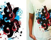 T-Shirt Design Poptune Art