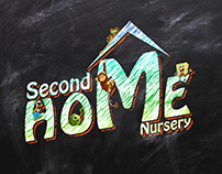 Second Home Nursery Logo