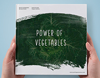 Power of Vegetables - Book Design