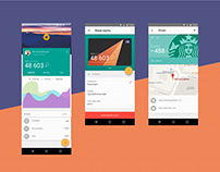RocketBank Android App Concept by Next.Art