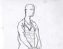Sketches about classmates