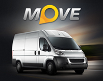 Move web site / Delivery services company