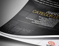 2013 NEF-AWANI ICT AWARDS MARKETING ADS DESIGN