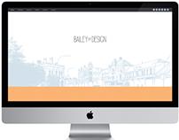 Bailey Street Design Website