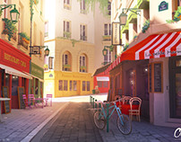 City of Love : Rue Mouffetard