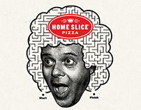 Home Slice Pizza: Happy Happy Fun Book