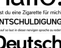 Apposite, An Original Typeface Design