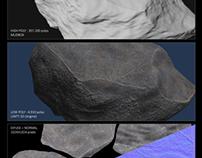 Rock Study (Unity 3D)