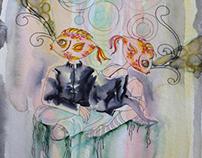 2009-2012 Watercolor - Sea Life