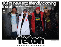TGR Clothing Magazine And Online Ads
