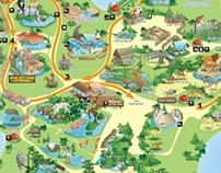 Singapore Zoological Garden Map