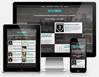 The Thiel Foundation Responsive Web Redesign