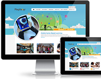 Playmaker School website deisgn