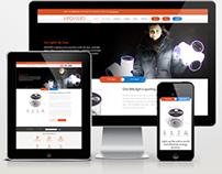 MPowerd responsive site design
