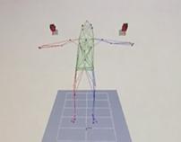 Motion Capture Motion Data in Cortex