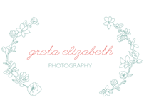 GRETA ELIZABETH PHOTOGRAPHY BRANDING
