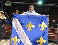 Kraljevska Zastava BiH - Bosnian Kingdom Flag