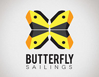 Butterfly Sailings Brand Identity