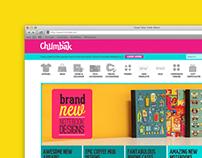 Chumbak Website Design
