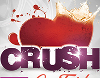 Crush Party Flyer