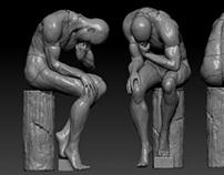 Sculptures (Z brush)