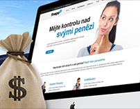 """Webdesign """"Finepo - financial advice"""""""