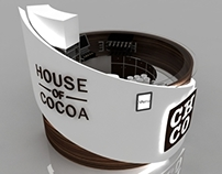 House Of Cocoa kiosk