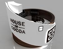 House Of Cocoa kiosk