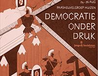 Poster: summerschool about democracy